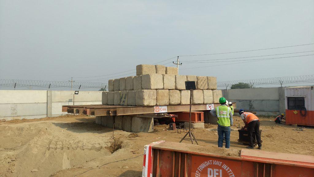 CFA Pile Trial Installation