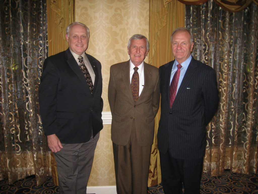 Likins, Goble and Rausche in 2009