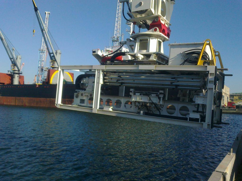 Sapir Engineering and Under Water Anchoring, of Ravenna, Italy
