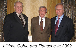 Garland E. Likins, George G. Goble, and Frank Rausche.